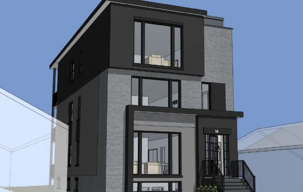 New 5 Plex Build in Mid Town Toronto By LRT