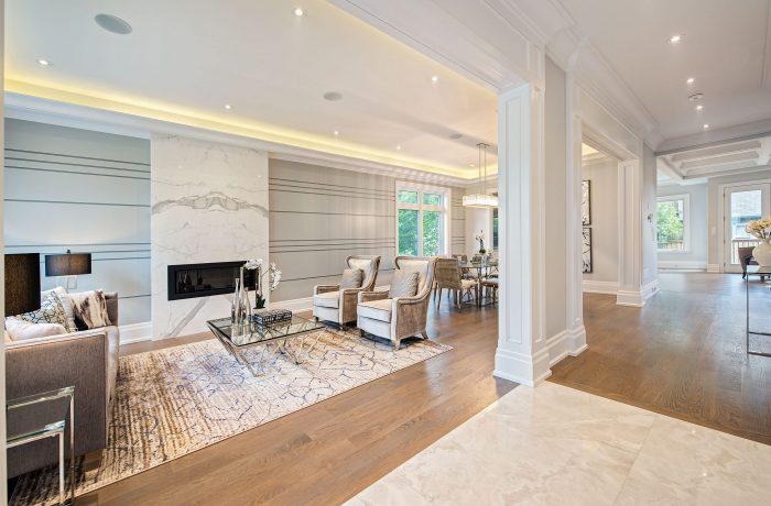 Custom Luxury Home in Bedford Park