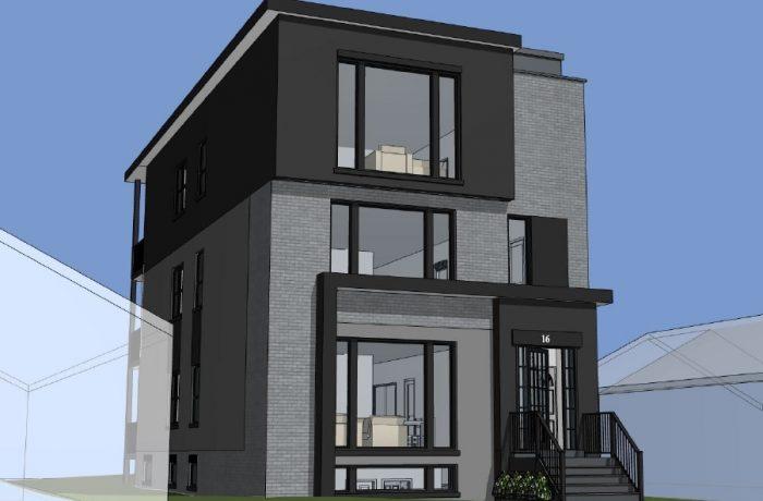 New 5 Plex Build in Mid Town Toronto By LRT